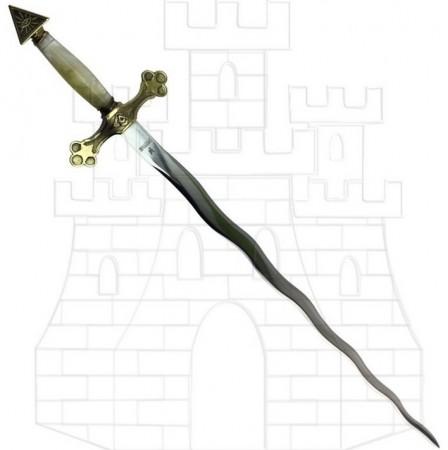 Espada Logia Masónica flamígera 448x450 - Espada Logia Masónica flamígera