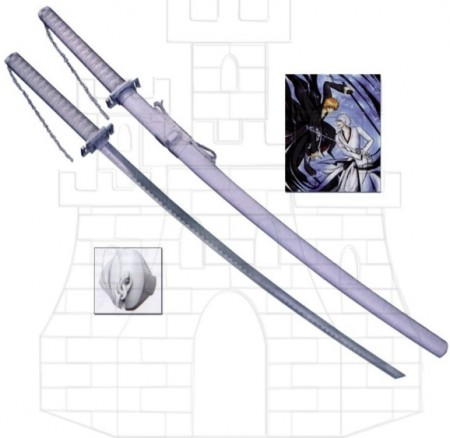 Katana Zanpakuto Hollow blanco, Bleach