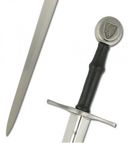 Espada Mano y media Albrecht II de Austria 444x493 custom - El pomo de las espadas funcionales