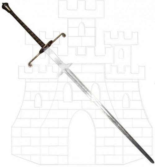 Espada Montante Renacentista2 - Espada Mano y Media funcional