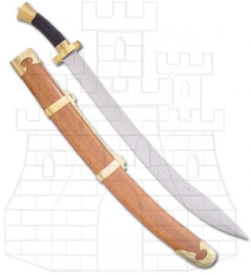 Espada Dao - Sable de caza alemán del año 1600