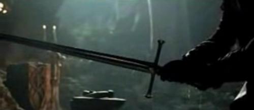 Espada Anduril Señor de los Anillos