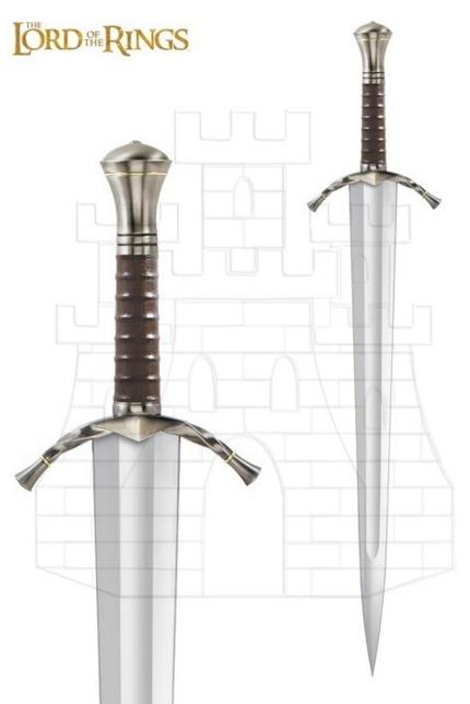 Espada Boromir señor de los anillos - Gladius de Oficial Romano con vaina