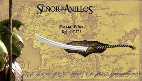 Espada Elfica del señor de los anillos