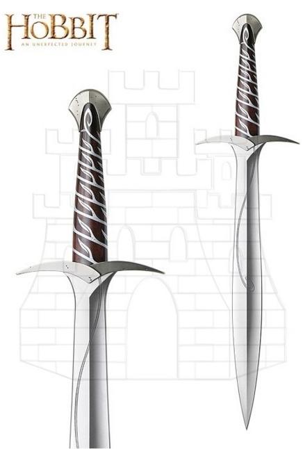 Espada Oficial Sting Frodo del Hobbit - Espada de Fili The Hobbit