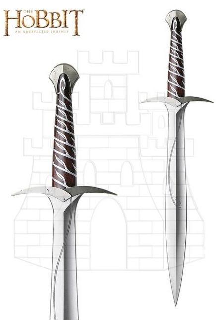 Espada Oficial Sting Frodo del Hobbit - Espada Oficial Godric Gryffindor de Harry Potter