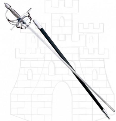 Espada Rapiera de combate 470x488 custom - El pomo de las espadas funcionales