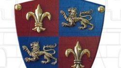 Mini escudo Príncipe Negro con mini espada 250x141 - Mini-escudo Príncipe Negro con mini-espada
