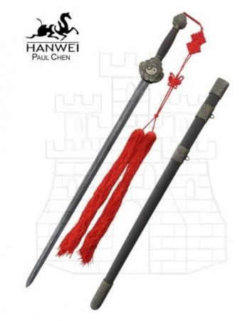 Espada Jian acero de Damasco 337x450 - Espada Jian, acero de Damasco