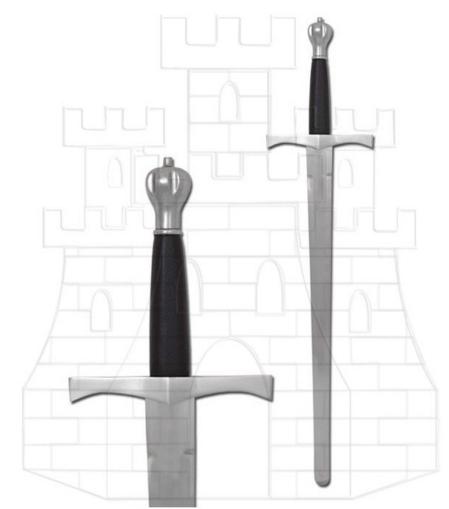 Espada medieval de entrenamiento - Espada medieval de entrenamiento