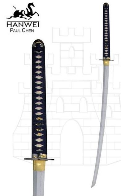Katana Orchid 1 - Katana Negra de Marto