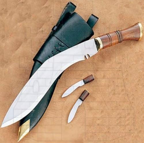 Kukri cuchillo nepalés - Cuchillos históricos y de época