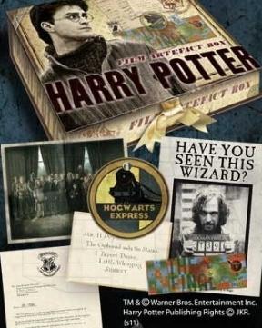 Caja recuerdos Harry Potter