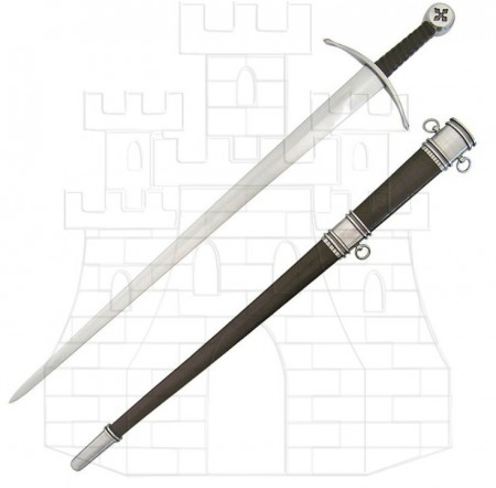 Espada medieval Malta 450x443 - Espada medieval Malta