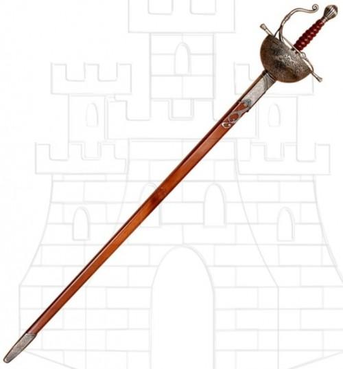 Espada Don Quijote plata - La Espada de Don Quijote de La Mancha