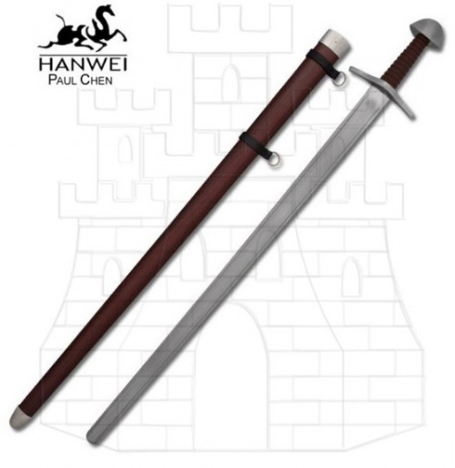 Espada Normanda una mano funcional - Espadas de lucha funcionales
