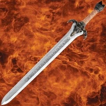 Espada Padre Conan funcional con licencia 1 - Dagas de Conan El Bárbaro
