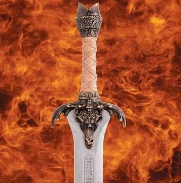 Espada Padre Conan funcional con licencia - Espadas Funcionales de Conan el Bárbaro (con licencia)