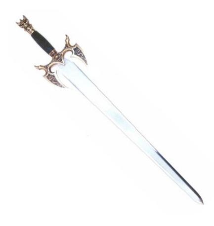 Espada del demonio - Me fascinan las espadas históricas, templarias, masónicas y escocesas