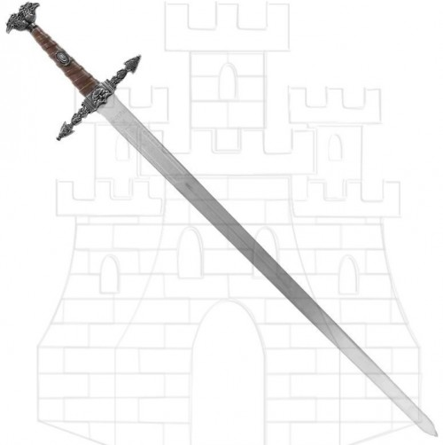Espada mago Merlín - Espadas del Mago Merlín fabricadas en Toledo