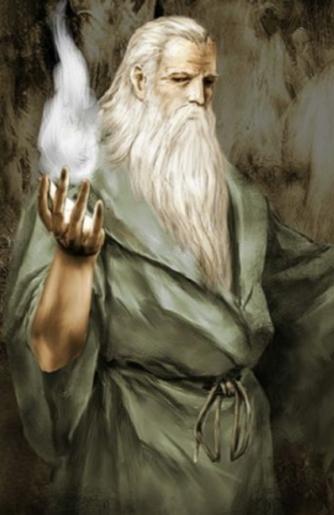 Mago Merlin - Espada de Merlín