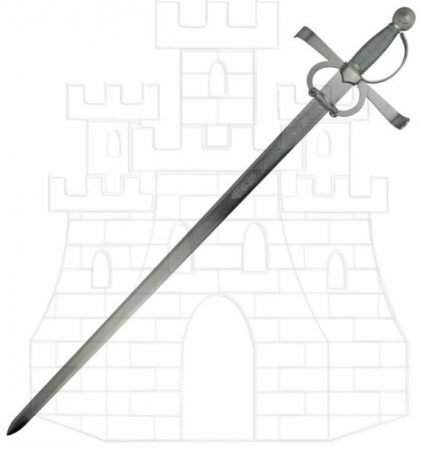 Espada Francisco Pizarro rústica 422x450 - Espada Francisco Pizarro rústica