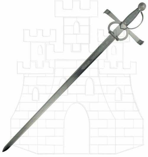 Espada Francisco Pizarro rústica - Espada Francisco Pizarro