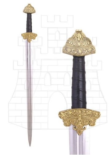 Espada Vikinga Dybek - Los Pomos de las Espadas Vikingas