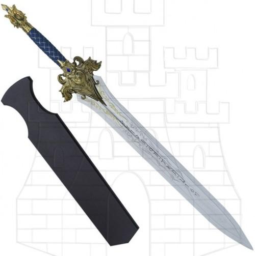 Espada Rey King Llane de Warcraft 115 cms. - Espada Rey Lich Warcraft