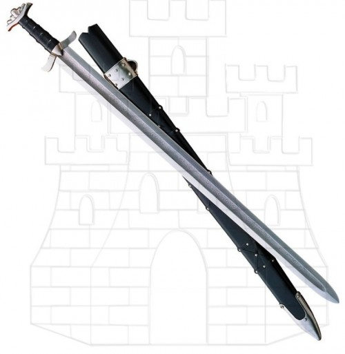 Espada Vikinga Acero Damasco