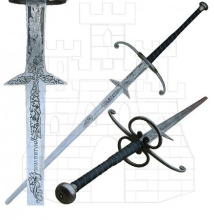 Espada montante Renacentista 438x450 - Espada montante Renacentista