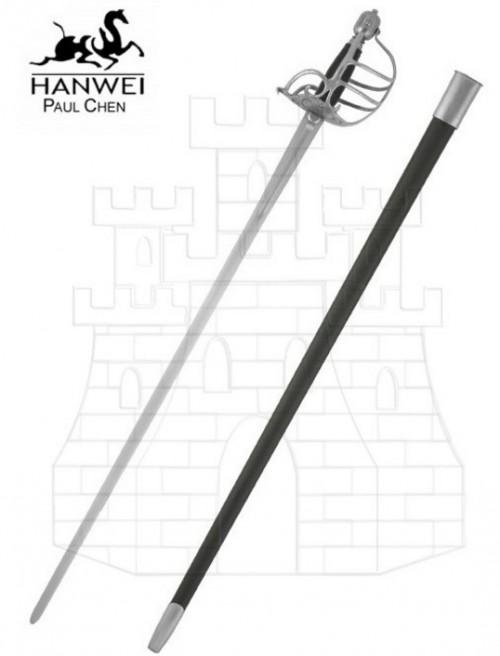 Espada puño mortuoria prácticas