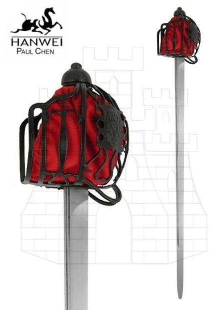 Espada cesta lazo practicas - Espadas tipo Cesta