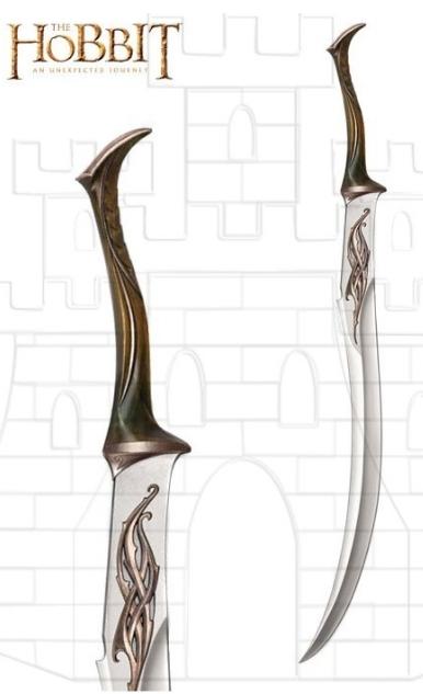 Espada del Ejército de Mirkwood Hobbit - Espada del Ejército de Mirkwood de El Hobbit