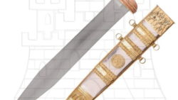 Gladius Mainz Tiberio con vaina 250x141 - Espada Gladius Centurión Romano funcional