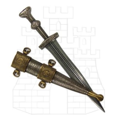 Daga romana de la época de Julio César - Espada de Julio César