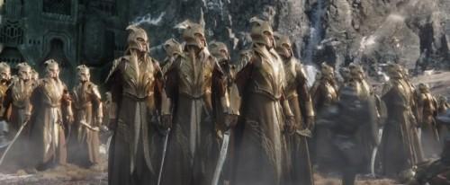 Ejército de Mirkwood - Espada del Ejército de Mirkwood de El Hobbit
