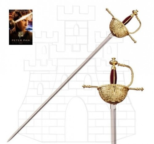 Espada Capitan Hook Peter Pan 1 - Espadas de Toledo
