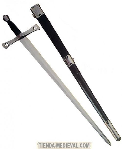 Espada Shrewsbury con vaina - Espada Bastarda funcional con vaina