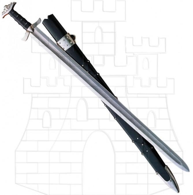 Espada Vikinga Acero Damasco 768x675 - Espada Vikinga Acero Damasco