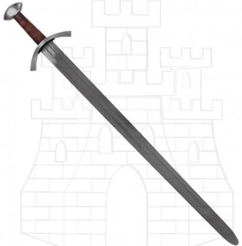 Espada medieval funcional Maurice siglo XIII 1 - Espada Medieval Funcional Maurice
