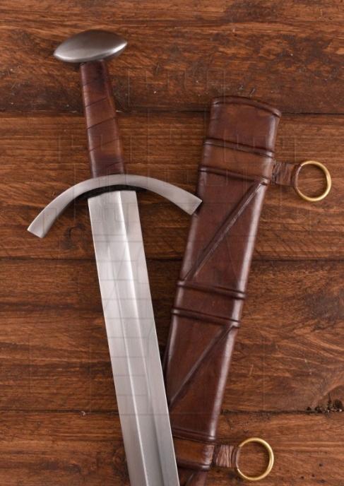 Espada medieval funcional Maurice siglo XIII - Espada Medieval Funcional Maurice