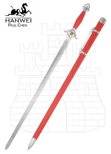 Espada Larga Flexiblw Wushu - Espadas medievales largas