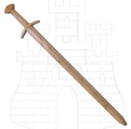 Espada vikinga de entrenamiento - Espadas de madera para prácticas