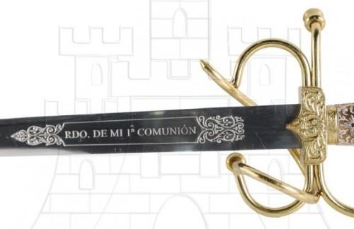 spada Colada para Comuniones - Las Espadas del Cid Campeador usadas en Bodas y Comuniones