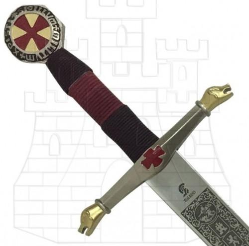 Espada Caballeros del Cielo decorada - Espadas de lujo de la marca toledana Art Gladius