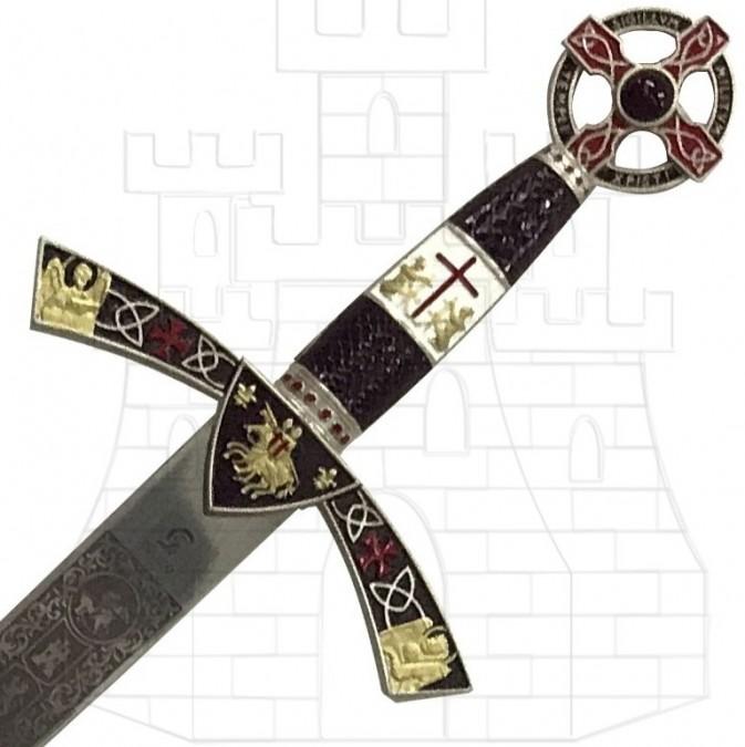Espada Templaria decorada 768x675 - Espada Templaria decorada