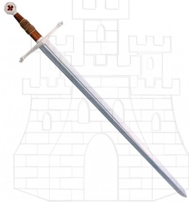 Armamento y Vestimenta: Guerreando en Calradia Espada-funcional-Reino-de-los-Cielos-633x675