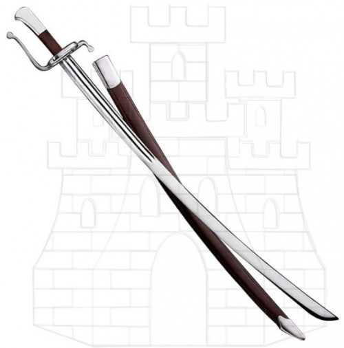 Sable de caza alemán con vaina - Sable de caza alemán del año 1600