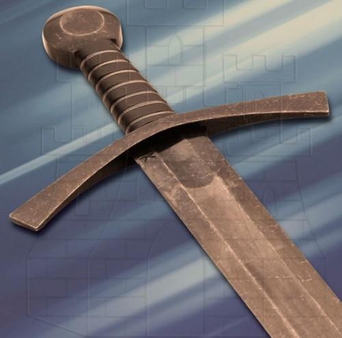 Espada medieval Acre combate 1 mano afilada - Espada Medieval Acre de combate